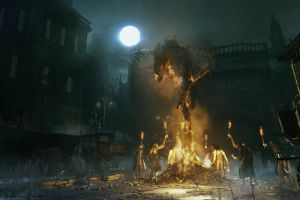 video games bloodborne screen shot