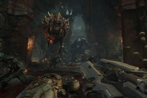 video games doom 4 first-person shooter doom (game) id software shooter