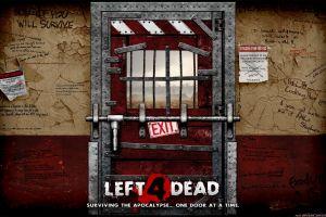 video games door left 4 dead 2 zombies