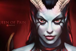 video games dota queen of pain defense of the ancient