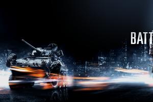 video games dual monitors multiple display tank battlefield 3 soldier military