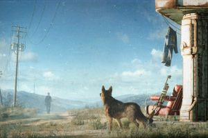 video games fallout 4 fallout dogmeat