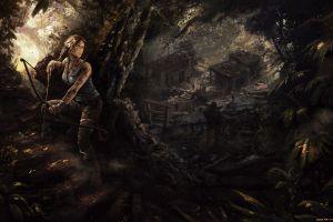 video games fan art video game characters video game girls lara croft artwork tomb raider