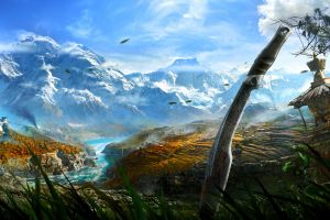 video games far cry 4 landscape