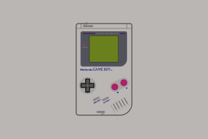 video games gameboy nintendo consoles minimalism