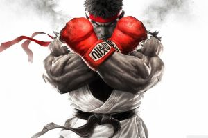 video games muscles video game warriors ryu (street fighter)
