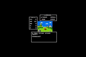 video games nintendo entertainment system dragon quest retro games
