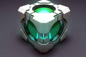 video games portal (game) cube companion cube