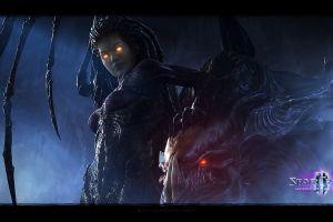 video games starcraft ii starcraft ii : heart of the swarm sarah kerrigan