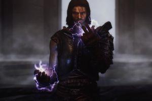 video games the elder scrolls v: skyrim magic fantasy men pc gaming