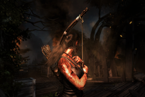 video games tomb raider bow