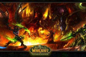 video games world of warcraft: the burning crusade world of warcraft kael'thas illidan stormrage