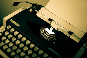 vintage technology typewriters