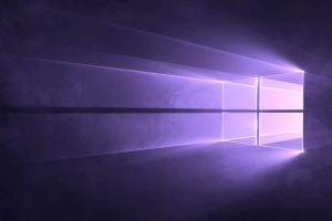 violet purple windows 10 logo microsoft windows