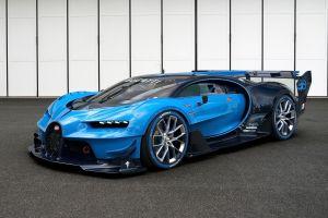 vision gran turismo bugatti vision gran turismo bugatti veyron blue cars vehicle car