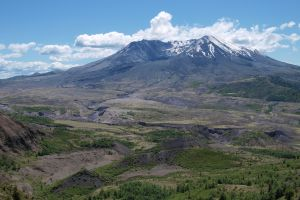 volcano glaciers forest wilderness destruction mount  st.  helens washington state mountains
