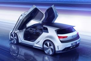 volkswagen golf gte vehicle car