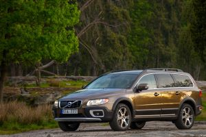 volvo brown cars car trees numbers vehicle