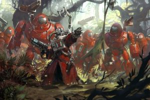 warhammer 40,000 science fiction adeptus mechanicus