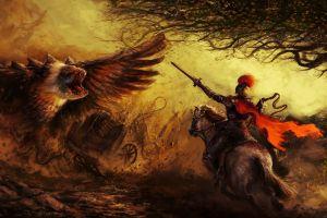 warrior fantasy art creature artwork