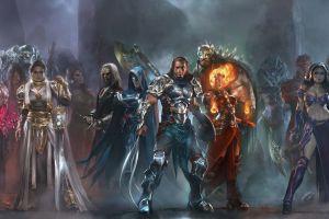 warrior hero magic: the gathering fantasy art