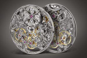 watch gears luxury watches simple background clockworks screw switzerland rear view vacheron constanin technology gray background