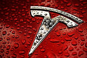 water drops logo tesla motors