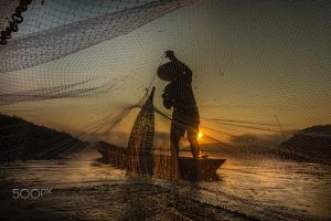 water fishermen 500px nature workers fishnet