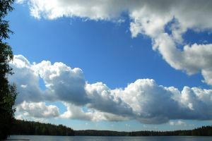 water nature clouds