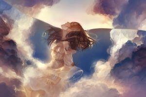 water original characters clouds dress