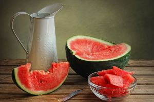 watermelons melons food