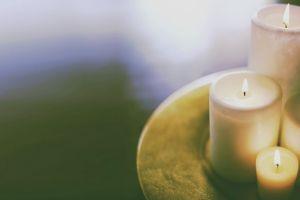 wax candles lights