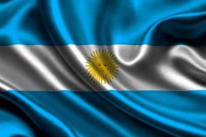 white blue argentina flag