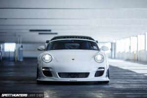 white cars car lb performance porsche 997 liberty walk speedhunters  porsche