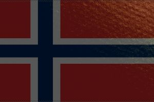 white flag red norway