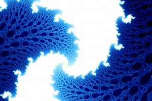 white simple blue pattern digital art white background