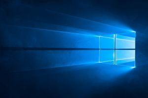 windows 10 microsoft blue