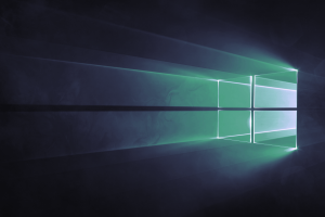 windows 10 reflection logo