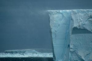 windy landscape nature iceberg ice