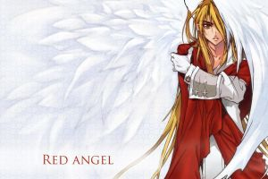 wings anime blonde