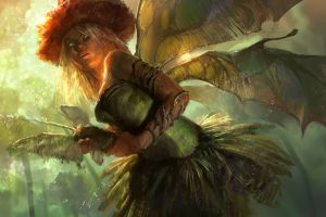 wings artwork fantasy art fairies fantasy girl