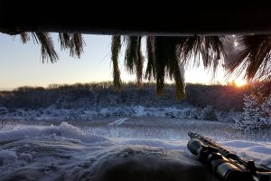 winter sniper rifle weapon snow