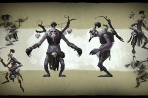 witch doctor valve dota 2 painting hero dota valve corporation video games defense of the ancient