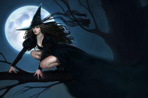 witch fantasy art artwork