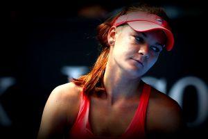 women agnieszka radwańska wta tennis looking away