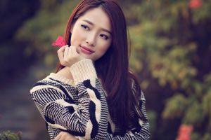 women asian depth of field