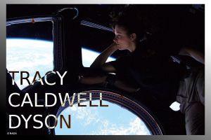 women astronaut typography