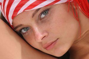 women blue eyes face eyes indiana a