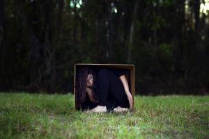 women boxes women outdoors
