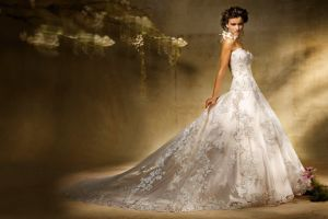 women brunette brides wedding dress dress